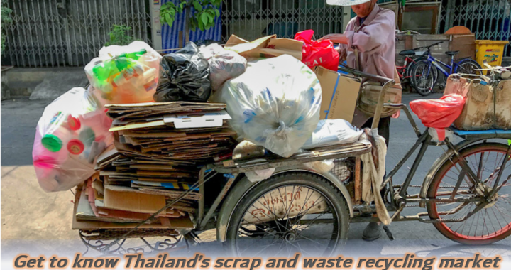 Get to know Thailand's Scrap and waste recycling market